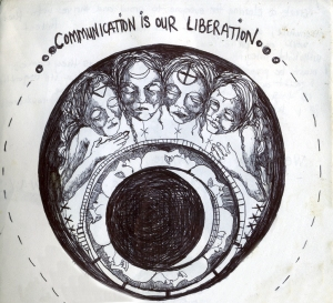 Communicationis our liberation - original artwork by Amara