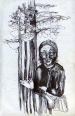 Original Art Work by Amara - Holding Tree